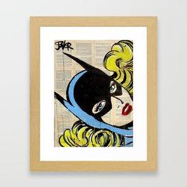 THAT GIRL Framed Art Print