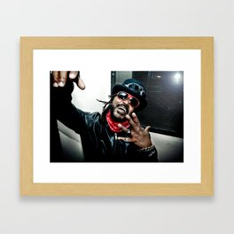 Skindred (Benji Webbe) Framed Art Print