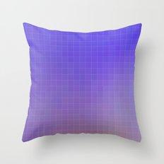 Pixel Purple Throw Pillow