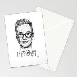 Tyler Oakley Line Art Stationery Cards