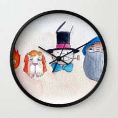 Make the Unlikeliest of Friends, Wherever You Go 3 Wall Clock
