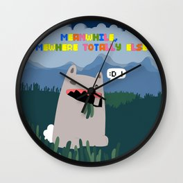 Offender 2 (World War B: War On Rabbits) - Meanwhile, Somewhere Totally Else... Wall Clock