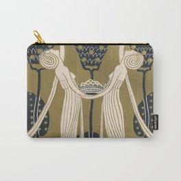 Art Nouveau Women Carry-All Pouch