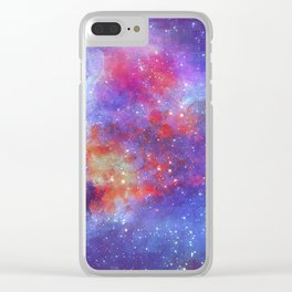 Heart of Universe Clear iPhone Case