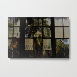 Opening windows Metal Print