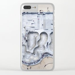 Venice Skate Park Clear iPhone Case