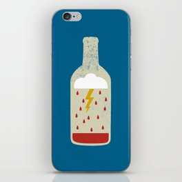 wine bottle iPhone Skin