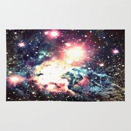 Fox Fur Nebula : Deep Pastels Galaxy Rug