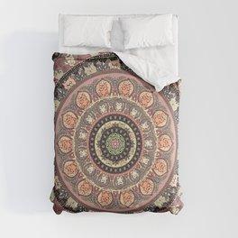 Cat Yoga Medallion Comforters