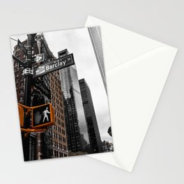 White Light City Stationery Cards