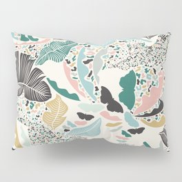 Surreal Wilderness / Colorful Jungle Pillow Sham