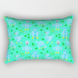 Silly Dodo's Rectangular Pillow