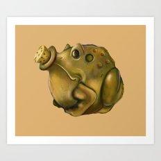 Toad Powder Bomb Art Print