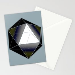 Icosahedron Stationery Cards