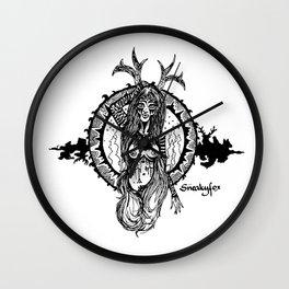 Animal spirit Wall Clock