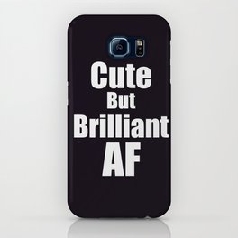 Brilliant AF iPhone Case