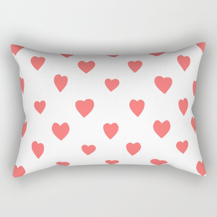 Hearts Rectangular Pillow