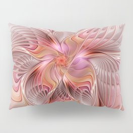 Abstract Butterfly, Fantasy Fractal Pillow Sham