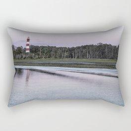 Assateague Lighthouse - landscape Rectangular Pillow