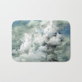 You must not blame me if I do talk to the clouds Bath Mat