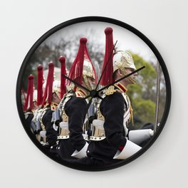 Blues And Royals Cavalry  Wall Clock