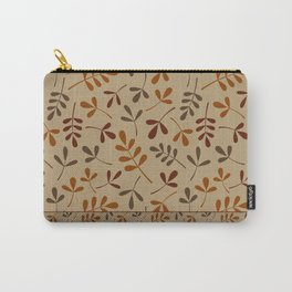 Fall Color Assorted Leaf Silhouettes II Carry-All Pouch