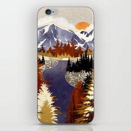 Autumn River iPhone Skin