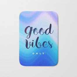 Good Vibes #homedecor #cool #positive Bath Mat