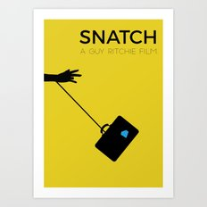 Snatch Minimalist Poster Art Print