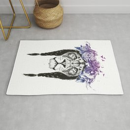 King of lions Rug