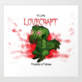My Little Lovecraft Art Print
