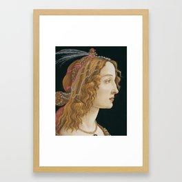 Botticelli Art Print Framed Art Print