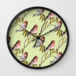 springtime Wall Clock