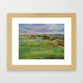 Scottish Lowlands Framed Art Print