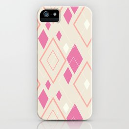 Lilac summer pattern iPhone Case
