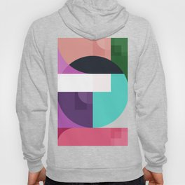 Abstract geometric, cute color Hoody