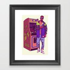 Monster Arcade Framed Art Print