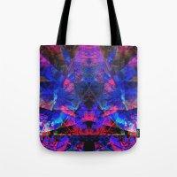 pyramid Tote Bags featuring Pyramid by Assiyam