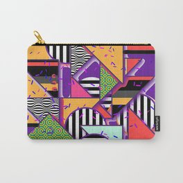 ABSTRACT WITH SPRINKLES Carry-All Pouch
