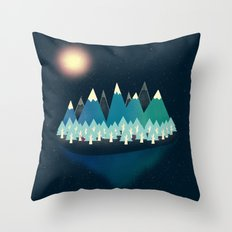Somewhere In Between Throw Pillow