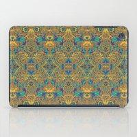arabic iPad Cases featuring Arabic Marigold by GEETIKAGULIA