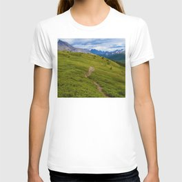 Views Along the Wilcox Pass Trail in Jasper National Park, Canada T-shirt