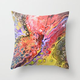 victoria_abstrAct Throw Pillow