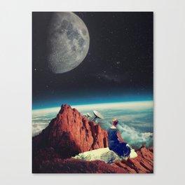 Those Evenings Canvas Print