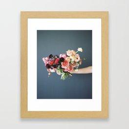 Flower Bouquet Framed Art Print