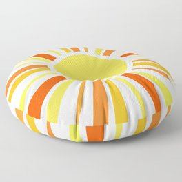 Let the sunshine in Floor Pillow