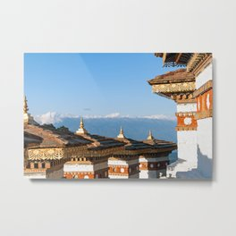 Bhutan: Sunset on Dochula Pass Metal Print