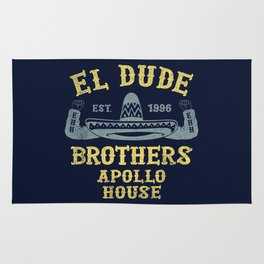 The Peep Show - El Dude Brothers Rug
