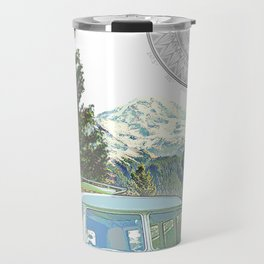 """""""Not all who wander, are lost"""" poster print Travel Mug"""