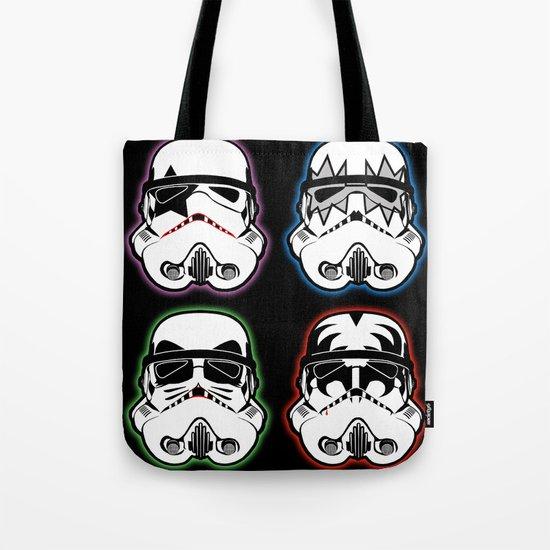 Kiss Troopers Tote Bag